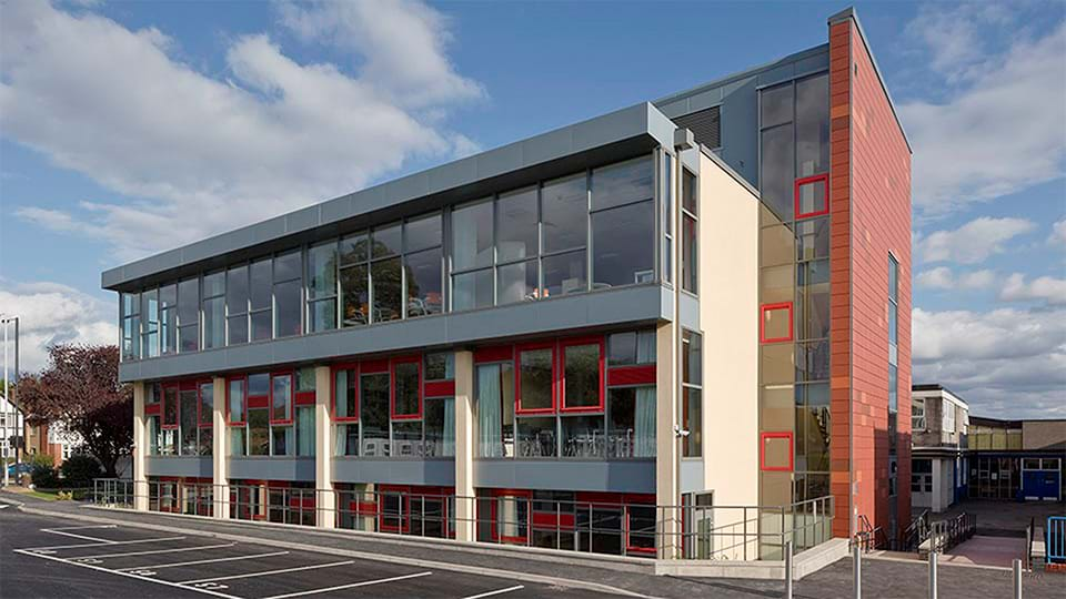 Shot 1 of Nower Hill High School, London